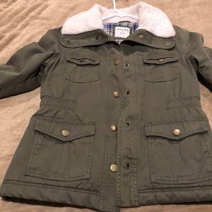 Old navy green coat!